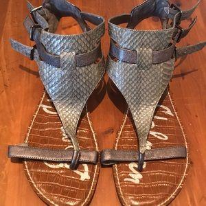 NWOT grey sam Edelman gladiator sandals size 10M